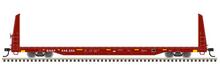 Pre-order for Atlas O BNSF 62' Bulkhead Flat car, 3 rail or 2 rail