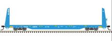 Pre-order for Atlas O GATX  62' Bulkhead Flat car, 3 rail or 2 rail