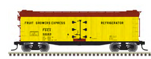 Pre-order for Atlas O  FGE 40' rebuilt Wood Reefer, 3 rail or 2 rail
