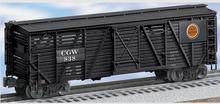 Lionel  CGW  40' ACF 40 ton stock car , 3 rail