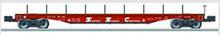 Lionel Santa Fe  PS-4  50'  wood deck flat car