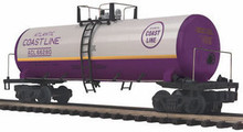 MTH Premier Atlantic Coast Line 40' Tank Car, 3 rail