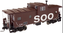 Atlas O SOO Line  Extended Vision caboose, (brown), 3 rail