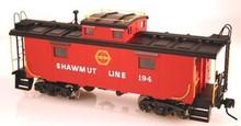 Atlas O Shawmut NE-6 Caboose, 3 rail