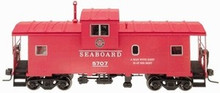 Atlas O Seaboard Extended Vision caboose, 3 rail