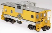 Atlas O Rio Grande (yellow/silvdr/black) Extended Vision caboose, 3 rail