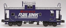 Atlas O Montana Rail Link Standard Cupola Caboose, 2 rail