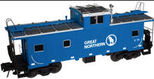 Atlas O Great Northern extended vision Caboose, (blue) 3 rail