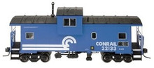 Atlas O Conrail Extended Vision caboose, 3 rail