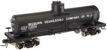 Atlas O Woburn Degreasing Co of NJ 8000 gallon tank car, 3 or 2 rail