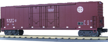 MTH Premier BNSF 50' (wagon wheel) Double Plug Door Box Car, 3 rail