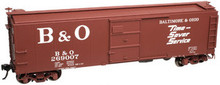 "Atlas O B&O ""Timesaver""  1923 ARA X-29 style 40' box car, 3 rail or 2 rail"