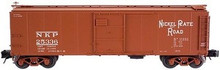 Atlas O NKP  1923 ARA X-29 style  40' box car, 3 rail or 2 rail
