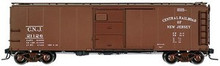 Atlas O CNJ (small lettering)  1923 ARA  X-29 style  40' box car, 3 rail or 2 rail