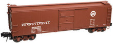 Atlas O PRR  X-29  40' box car (Panel door, flat ends), 3 rail or 2 rail