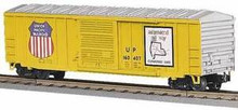 MTH Rail King Union Pacific 50' Modern Box Car, 3 rail