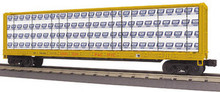 MTH Rail King Union Pacific Center I-Beam Flat Car, 3 rail