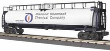 MTH Railking Diamond Shamrock Chemical Co 33k Gallon Tank Car, 3 rail
