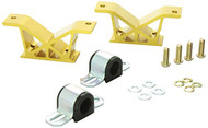 Whiteline Forged Aluminum Rear Sway Bar Mounts 22mm - Subaru
