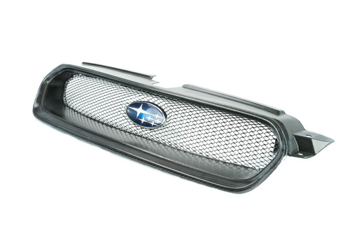 6OVRCRST Carbon Fiber Grill with included custom pressed mesh - Subaru Legacy 2006-2009