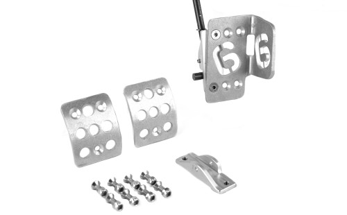 6ovrcrst Aluminum Racing Accelerator Pedal Kit on factory accelerator lever