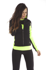 Performance Jacket Radiance Fluo + Crystal ZIP