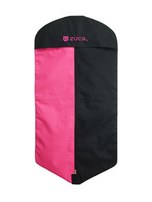 GARMENT BAG, PINK/BLACK