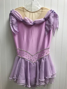 Pink/Lilac competition dress (pre-owned)