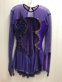 Purple competition dress (pre-owned)
