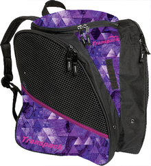 Transpack Back Pack Bag - Purple Topo