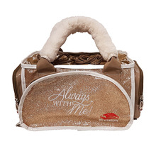 "EDEA Always ""WITH ME"" Accessory Skate Bag  Champagne"
