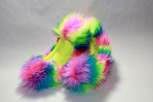 Rainbow Crazy Fur