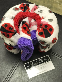 Ladybugs Soakers with Towel
