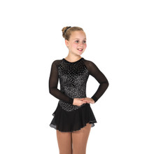 11 Diamond Chips Dress - Black, size 12-14