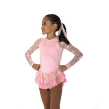 18 Ribbon Lace Dress, size 8-10