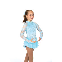 39 Versailles Dress - Crystal Blue, size 10-12