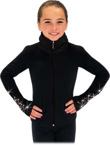 Elite Polartec Fleece Jacket JS883 with Crystals