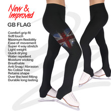 GB Flag Skate Leggings Size 28 L