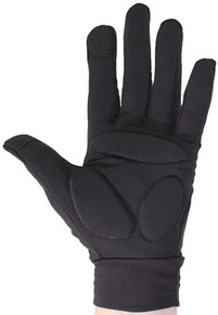Warm Padded Gloves Black