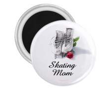Ice Skating Magnet Skating Mom