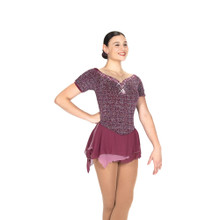 529 Iced Mulberry Dress