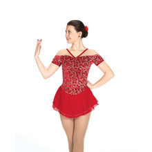 532 Chanteuse Dress – Ruby Red