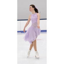 552 Sidestep Dance Dress - Icy Lilac