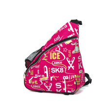 6004 Graffiti Shoulder Pack Skate Bags - Deep Pink