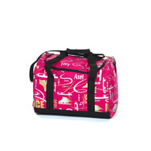 6040 Graffiti Carry All Skate Bag - Deep Pink