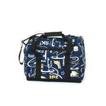6080 Graffiti Carry All Skate Bag - Navy Blue