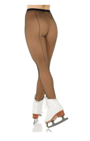 Mondor Cabaret Fishnet Tights with Rhinestones size 12-14