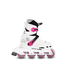 Recreational Inline Adjustable Skates Beetle Girl Pink