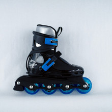 Recreational Inline  Adjustable Skates Beetle Boy Blue