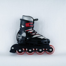Recreational Inline  Adjustable Skates ROXA Extend Black